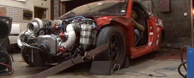 Tuning Toyota: 4 cilindri si 1104cp pe o Celica