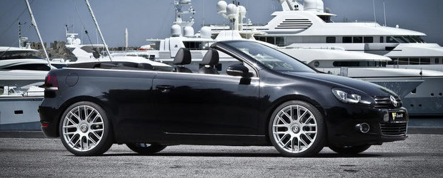 Tuning Volkswagen: Modificari minore pentru noul Golf Cabrio