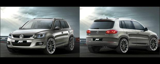 Tuning VW: ABT dezvaluie primul pachet de tuning pentru noul VW Tiguan