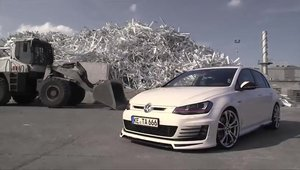 Tuning VW: ABT Sportsline modifica noul Volkswagen Golf GTI