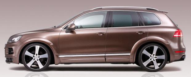 Tuning VW: Wide-body Kit pentru noul Touareg R-Line!