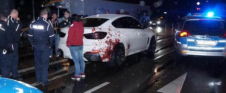 Tuningul care a pus pe jar politia germana. Autoritatile au trimis trei echipaje dupa acest BMW X6