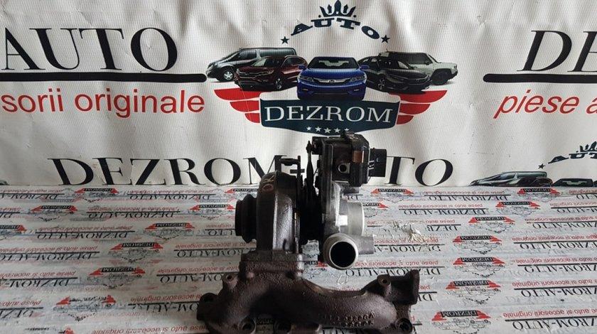 Turbina dreapta Peugeot 407 2.7HDi bi-turbo 204cp UHZ 4u3q-6k682-aj