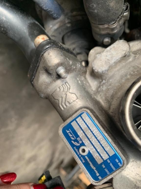 Turbina Fiat Doblo 1.3 euro 5 95 cp 55225439