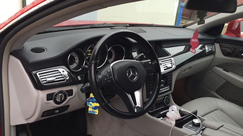 Turbina Mercedes CLS W218 2014 coupe 3.0