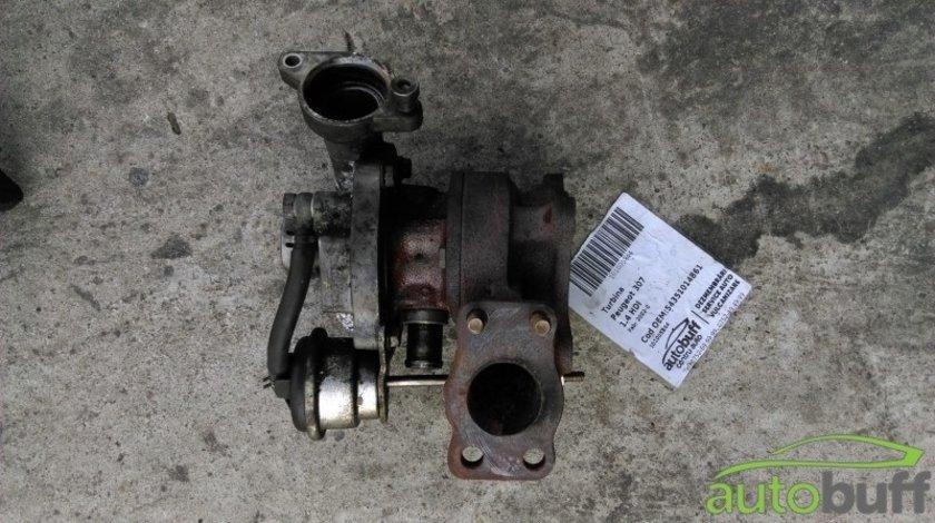 Turbina Peugeot 307 ( 2001-2008 ) 1.4 HDI 54359710009 kp35-487599 gk50723310823