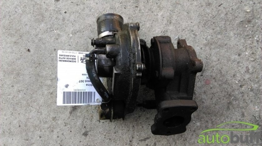 Turbina Peugeot 307 ( 2001-2008 ) 2.0 HDI 9622526980 706977-1