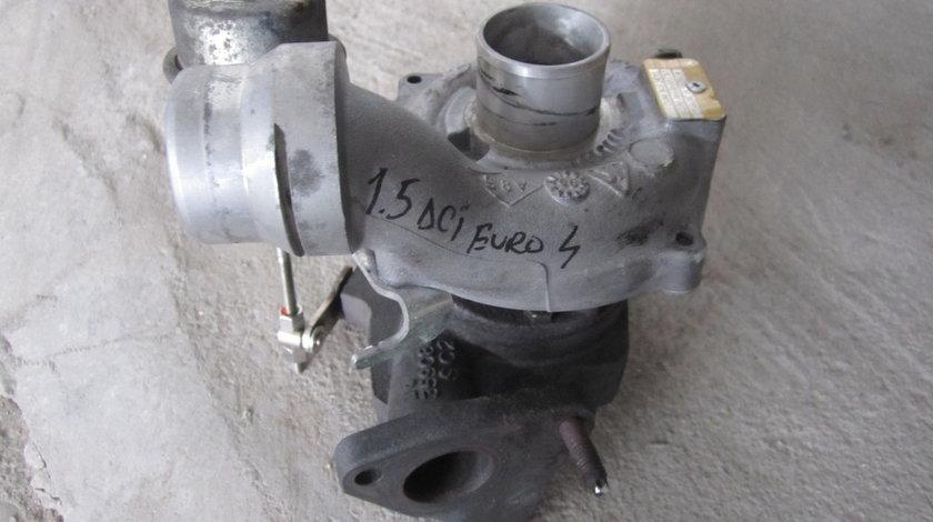 turbina renault clio 1.5 dci euro 4  85 cp