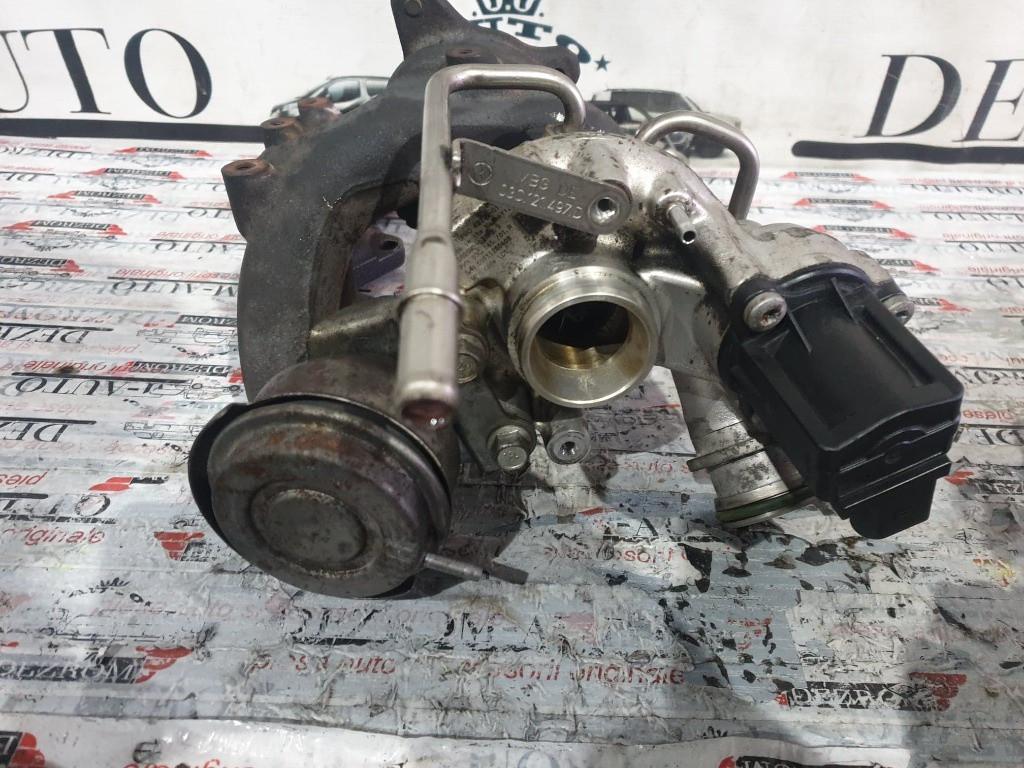 Turbina Skoda Rapid 1.4 TSI 122 cai motor CAXA cod piesa : 03C145701R