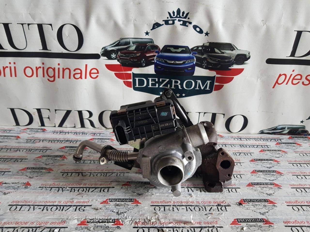 Turbina stanga Peugeot 607 2.7HDi bi-turbo 204cp UHZ 4u3q-6k682-bl