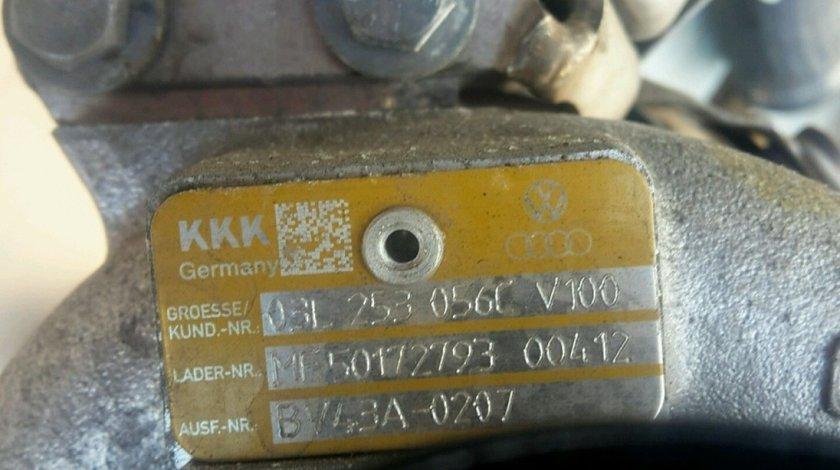 Turbina vw audi a3 8p 2.0 tdi cbbb 170 cai cod 03l253056c