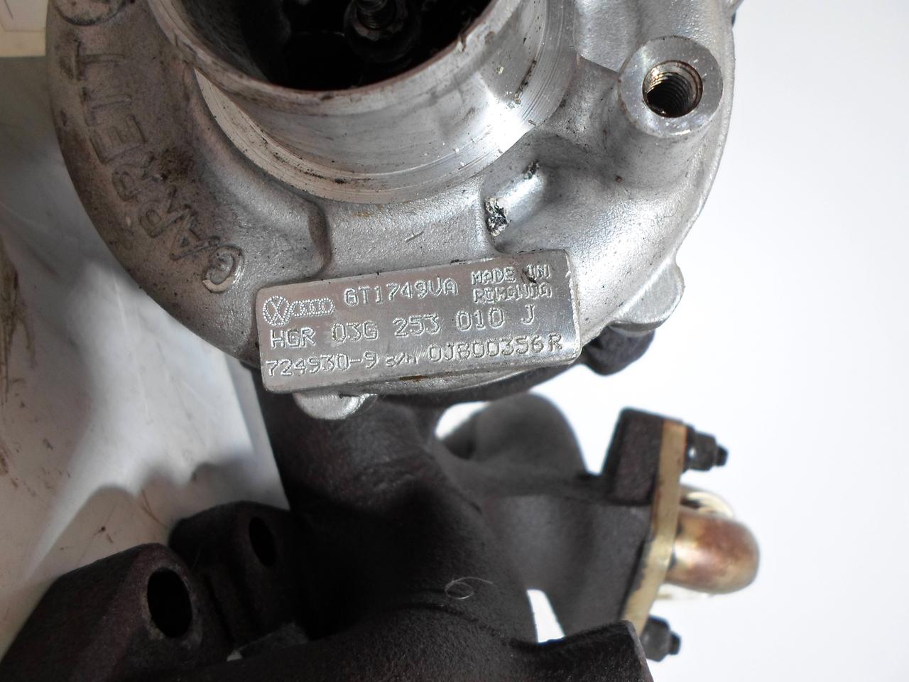 Turbina Vw Passat 2.0 TDI 140 cp 2005-2010 cod: 03g253010j