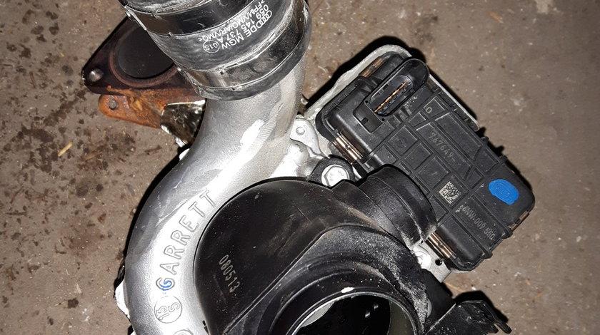 Turbo AUDI 3.0 V6 TDI CDU GARRETT 059145874L 40000km Parc Dezmembrari Audi Garantie! Livrare prin cu