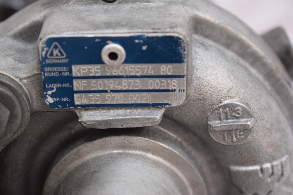 Turbo Citroen Nemo 1.4 HDI 50 KW 54359700021 574