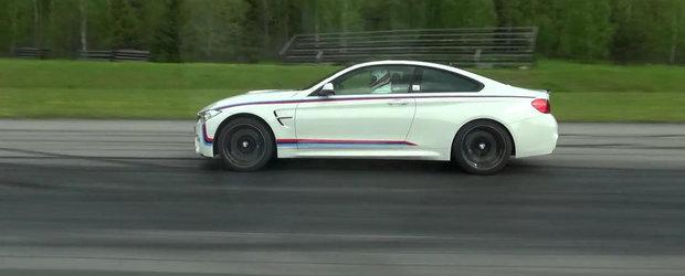 Turbo vs. Aspirat: Scurta liniuta intre noul M4 Coupe si vechiul M3 Sedan