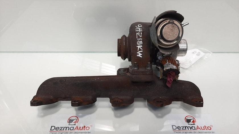 Turbosuflanta, Peugeot 307 [Fabr 2000-2008]1.6 hdi, 9HZ, 9656125680 (id:429319)