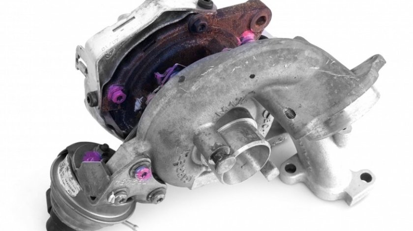 Turbosuflanta + Supapa Electrica Oe Volkswagen Caddy 3 2010-2015 1.6 TDI CAYE 03L253016T