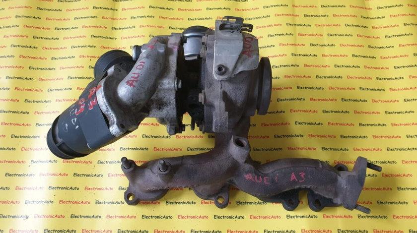 Turbosuflanta, turbina Audi, Volkswagen 03l253019j, 53031015051