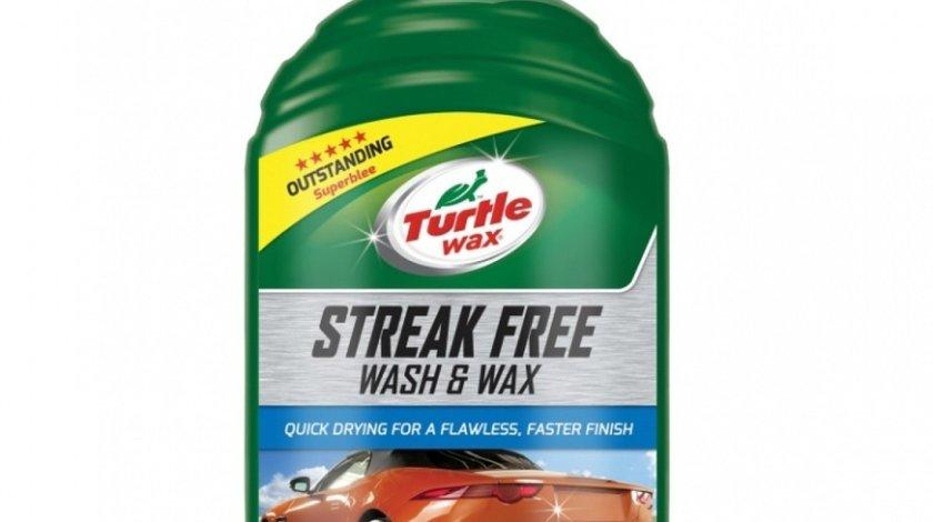 Turtle Wax Sampon Auto Si Ceara Streak Free Wash & Wax 500ML TW FG7636