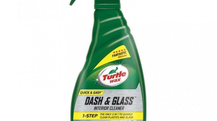 Turtle Wax Solutie Curatat Bord Si Geauri Dash And Glass Interior Cleaner 500ML FG52803