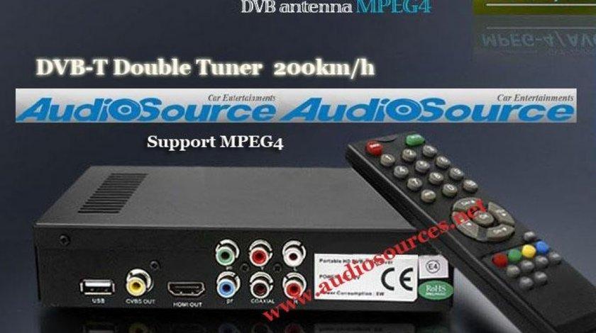 TV TUNER DIGITAL DVB-T HD MPEG 4 RECEPTIE IN MERS GARANTAT 150 KM H PRO TV SPORT RO