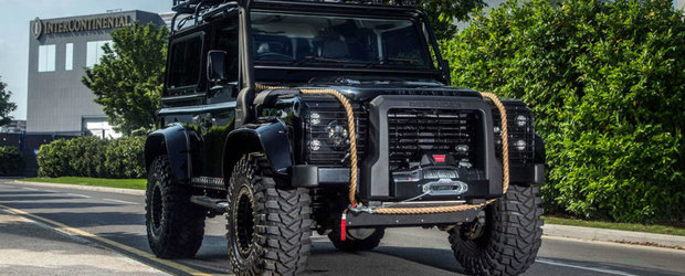 Tweaked Automotive promite sa iti faca un Land Rover Defender ca cel din filmul Spectre