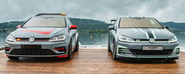 Ucenicii VW din nou la inaltime in Austria. Cele doua GOLF-uri unicat aduse la Worthersee