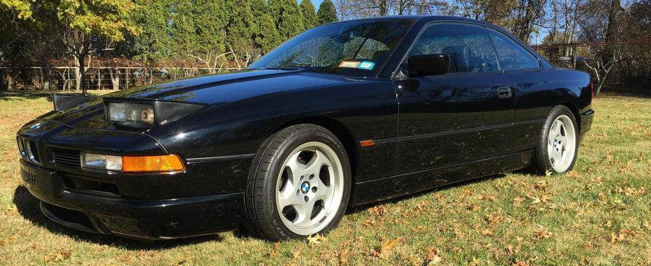 Uita de noul model. Acest BMW cu motor V12 si cutie manuala e singurul Seria 8 pe care ti-l doresti