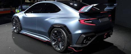 Uita-te bine la noul concept de la Subaru. Cam asa ar putea arata viitorul WRX STI