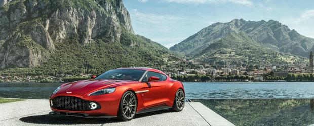 Uite ca insistentele clientilor dau roade uneori. Aston Martin Vanquish Zagato intra in productie, limitata ce-i drept