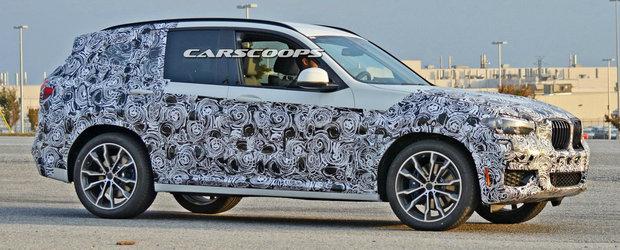 Uite cand vei face cunostinta cu noul BMW X3