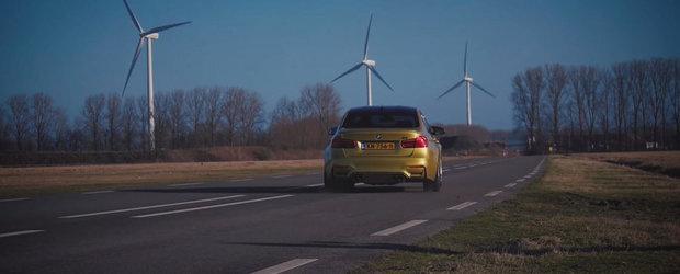 Uite cat de repede atinge un BMW M3 viteza maxima promisa
