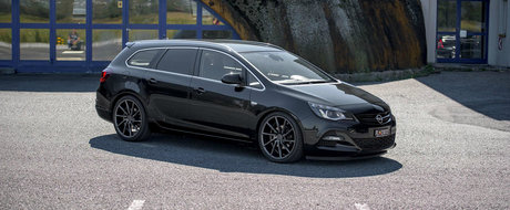 Uite cat de usor poti sa scoti din anonimat un Opel Astra break