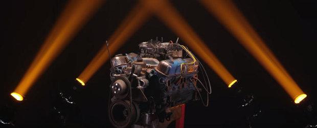 Uite ce se intampla cand pui cateva piese auxiliare noi pe un motor vechi de 42 de ani si il forjezi la maxim