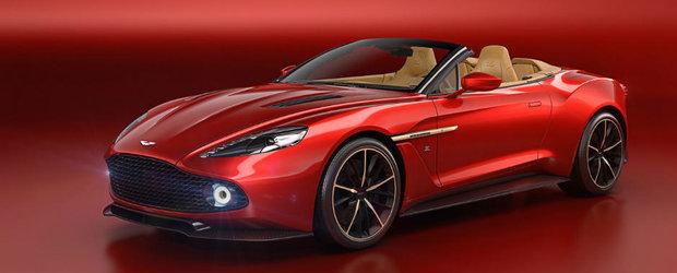 Uite cu ce concureaza Aston Martin Vanquish Zagato Volante pentru titlul de cea mai frumoasa decapotabila din lume