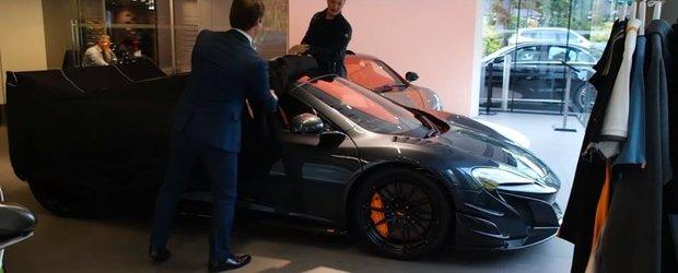 Uite cum este livrat primul McLaren MSO HS si vei intelege de ce proprietarul este cel mai norocos om din lume
