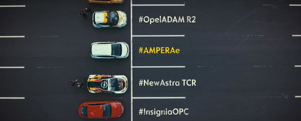 Uite cum sterge pe jos cu ei. Opel-ul Ampera-e impotriva mai multor modele performante, printre care si o masina de curse