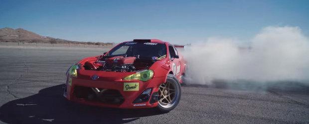 Uite de ce este in stare singura Toyota GT86 cu motor de Ferrari din lume
