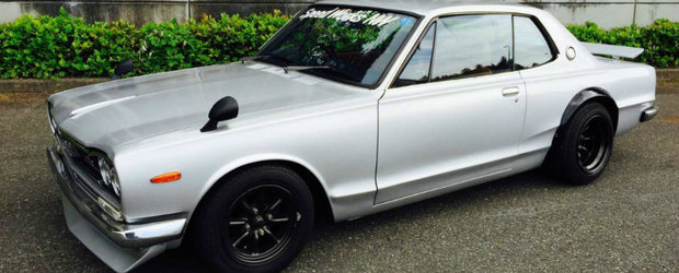 Uite un Nissan care ii va face pe toti fanii Godzillei sa respire apasat
