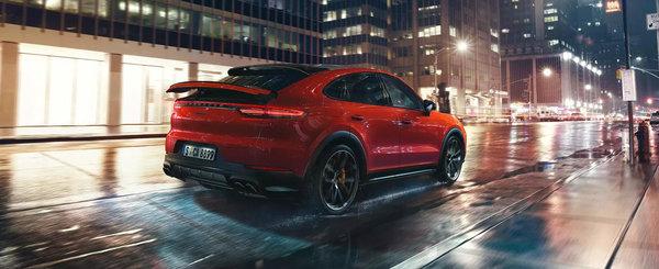 Uiti instant de GLE Coupe, BMW X6 si Audi Q8. Acesta este primul SUV coupe din istoria Porsche