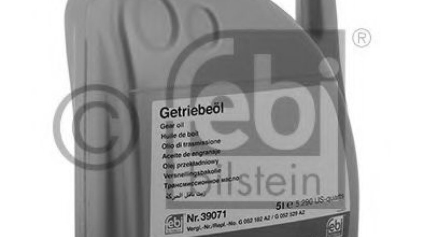 Ulei cutie automata AUDI A6 (4G2, C7, 4GC) (2010 - 2016) FEBI BILSTEIN 39071 produs NOU
