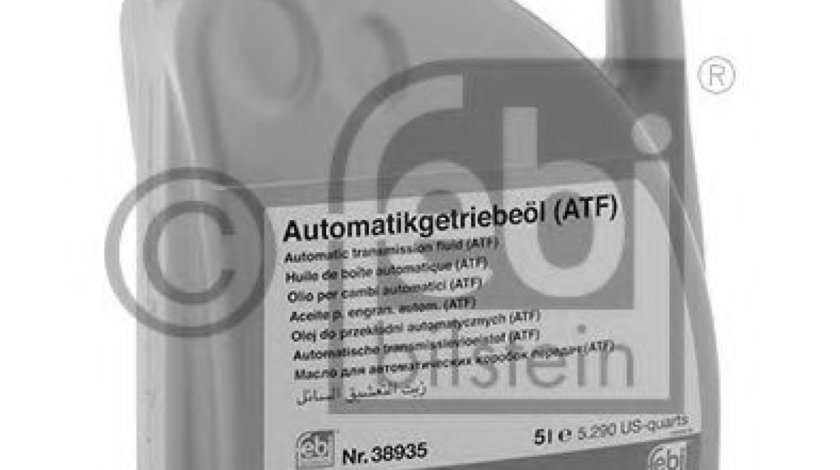 Ulei cutie automata BMW X1 (E84) (2009 - 2015) FEBI BILSTEIN 38935 piesa NOUA