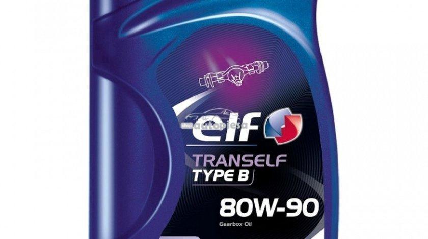 Ulei cutie viteze manuala ELF Tranself Typ B 80W90 1L 194747 - produs NOU