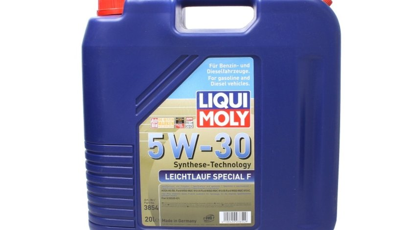 ulei de motor FORD MONDEO I GBP Producator LIQUI MOLY LEICHTL.SPEC. F 5W30