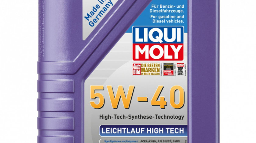 Ulei de motor Liqui Moly Leichtlauf HT 5W-40, 1L