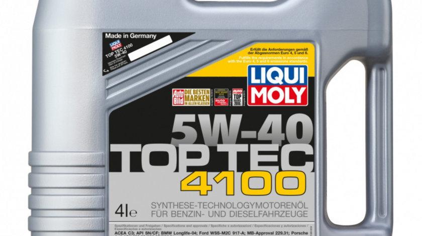 Ulei de motor Liqui Moly Top Tec 4100 5W-40, 4L