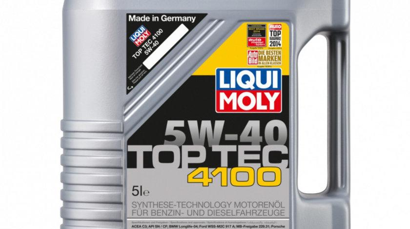 Ulei de motor Liqui Moly Top Tec 4100 5W-40, 5L