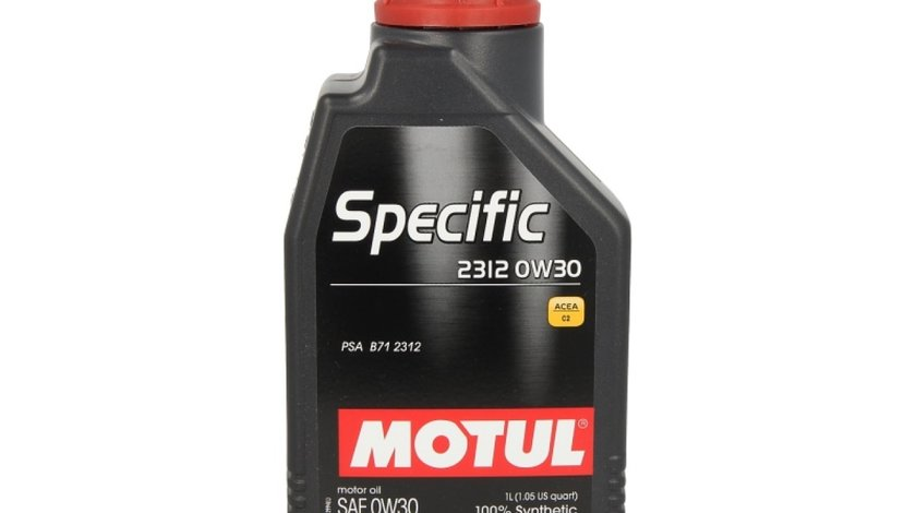 ulei de motor PEUGEOT 207 WA WC Producator MOTUL 99999