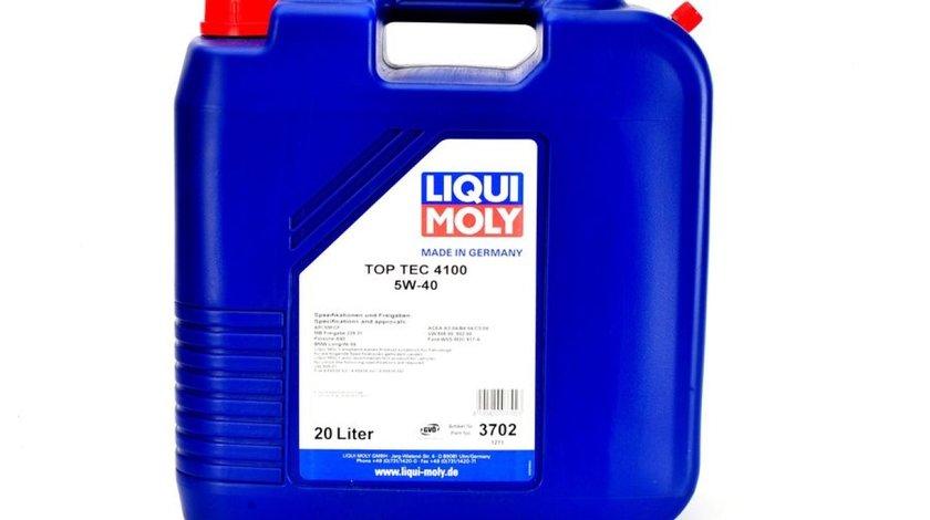 ulei de motor PEUGEOT J5 Autobus (280P) Producator LIQUI MOLY TOP TEC 4100 5W40