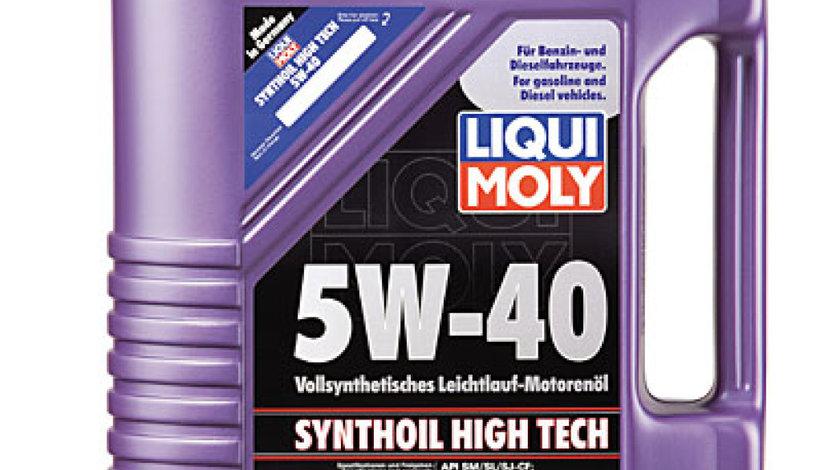 ulei de motor PEUGEOT J5 Autobus 280P Producator LIQUI MOLY SYNTHOIL HT 5W40